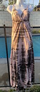 Gypsy 05 Tie Dye Maxi Dress Size Small