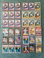 Kelly Gruber Baseball Card Mixed Lot approx 126 cards