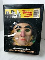 Vintage! THE WIZARD OF OZ 50th Anniversary SCARECROW Collegeville COSTUME w/ BOX