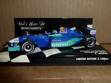 Minichamps 1:43 Felipe Massa Sauber Petronas Showcar F1 2002