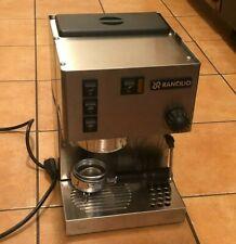 Rancilio Silvia Stainless Steel Espresso Machine Used
