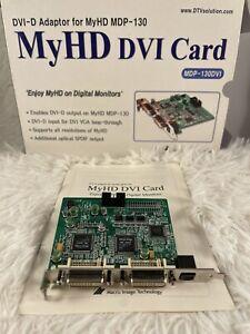 MyHD DVI CARD Mdp-130DVI DVI-D Adaptor For MyHD MDP-130