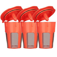 BRBHOM 3PCS Keurig 2.0 Refillable K-Carafe Reusable Coffee Filter Replacements