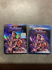 Avengers: Endgame (Blu-ray + Digital, 2019) Brand New