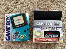 BRAND NEW SEALED Nintendo Game Boy Gameboy Color Console 1999 (TEAL) & Case GB60