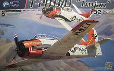 1/32 North American T-28 B/D Trojan Model Kit by Kitty Hawk Models