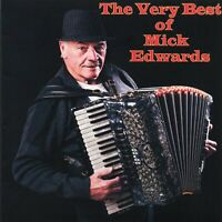 THE VERY BEST OF MICK EDWARDS - CD - FREE POST IN UK (Buy Here for 100% F/Back)