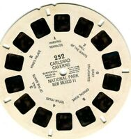Vtg. View-Master (1) Reel - Carlsbad Caverns, Nat'l Park - II, New Mexico - 252