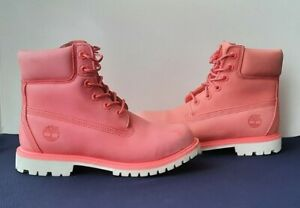 Timberland W 6-INCH PREMIUM WATERPROOF BOOT, Spiced Coral