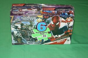 Marvel Avengers Six Jigsaw Puzzle Party Pack