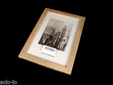 6 Imitation Photo Picture Frames Frame Wood Grain Finish A4 Document Certificate