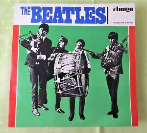 The Beatles LP DDR 1965 Amiga 850040 VEB Deutsche Schallplatten Berlin Sammler
