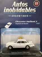 Plymouth Chrysler Valiant V200 (1961) Diecast 1:43 Autos inolvidables Arg