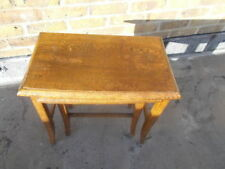 Oak Rectangle Antique Style Nested Tables