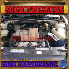 BLACK BLUE 1991-1995/91 92 93 94 95 BUICK PARK AVENUE AVE 3.8L V6 AIR INTAKE KIT
