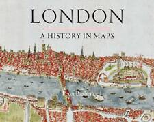 London: A History in Maps by Peter Barber (Hardback, 2012)