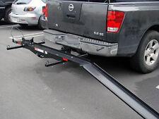 Sport Bike Motorcycle Carrier Truck pick up hauler hitch rack trailer cargo ramp
