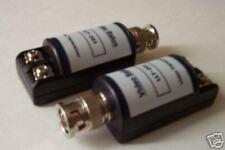 2 BNC Balun Video Coax UTP Transmission f cctv camera