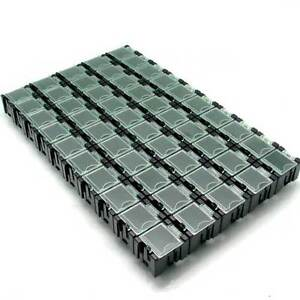 50 SMT Anti-statics Electronic Components Laboratory Storage Screws Gadget Boxes