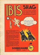 RECLAME VOOR IBIS SHAG 02 - KEES MEYS/WEEKBLAD PANORAMA 1935