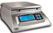 Báscula de cocina cargar báscula digital báscula-My weigh kd7000 - 7 kg x 1 g de plata