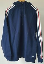 Adidas x Palace French Terry Hoody - Large - Night Indigo - BNWT - AZ6593 - AW16