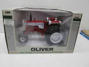 WHITE OLIVER TTT 1955 WITH SPIN OUT DUALS, NIB