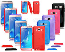 New Slim Gel Silicone Rubber Phone Case For Samsung Mobile Phone + Screen Guard
