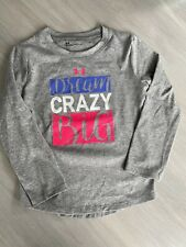UNDER ARMOUR Girl's LS Shirt. Size 4T