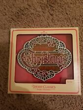 1979 HALLMARK TIFFANY CLASSIC *THE MESSAGE OF CHRISTMAS IS LOVE* FREE SHIPPING