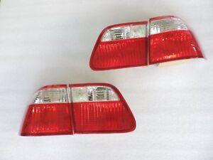 NEW 1999 2000 Honda Civic EK3 EK4 Sedan Crystal Rear Tail Lamp Light