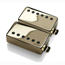 EMG JH James Hetfield Humbucker Pickup Set Long Shaft Gibson Les Paul Gold