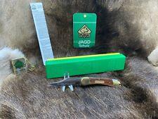 1979 Vintage Puma 965 Deer Hunter Knife & Jacaranda Handles Mint In G/Y Box Tag