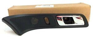 11-19 Ford Explorer front passenger interior black Bezel chrome Door Handle OEM
