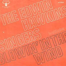 """EDWIN HAWKINS SINGERS – Blowin' In The Wind (1970 BOB DYLAN SINGLE 7"""" DUTCH PS)"""
