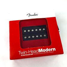 Genuine Fender Twin Head Modern Bridge Humbucker Pickup Black 099-2218-106
