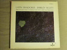 SHIRLEY SCOTT LATIN SHADOWS LP ORIG '65 IMPULSE! MONO A-93 SOUL JAZZ VG+
