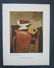 PABLO PICASSO • Still Life • Red Shawl, 1924 • Lithograph