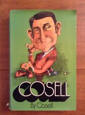 DOUBLE SIGNED: Cosell by Cosell (by Howard Cosell) Also Signed By Wife Emmy!