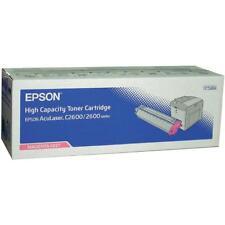 original Epson Tóner S050227 0227 aculaser c2600 2600 AGENTA a-artículo