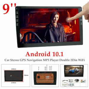 """9""""Android9.1 12V Car Stereo GPS MP5 Player Double 2Din WiFi Quad Core Radio Kit"""