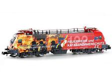 Hobbytrain H2780S - DCC + Sound E-Lok BR1016 ÖBB Feuerwehr Ep.VI - Spur N - NEU