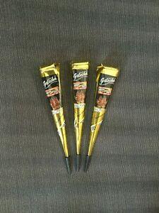 Fast color Black henna cone