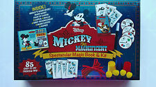 Disney Mickey Mouse Spectacular Magic Book and Kit 85 Easy-To-Do Tricks & Tips
