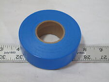 "(1) roll Blue Flagging Tape 1-3/16"" x 300' 2 mil Trail Marking Free Shipping"
