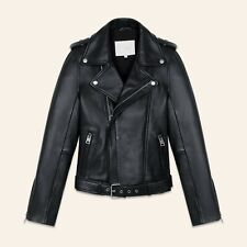 d2d4e527f Maje Leather Coats & Jackets for Women for sale   eBay