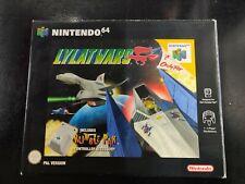 Lylat Wars Nintendo N64 Game & Rumble Pak - Boxed & Manual