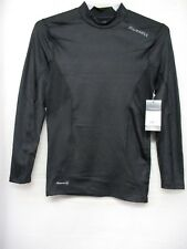 NEW Russell Men's Mock Neck Cold Compression Long Sleeve Tee Base Layer Size S