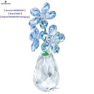 Swarovski Flower Dreams Forget-Me-Not 5254325 Figurine NEW in Gift Box!