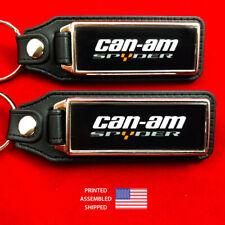 Can-Am Spyder Key Fobs Key Ring Keychain (2-Pack)